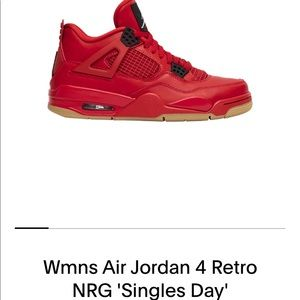"Nike Wmns Air Jordan 4 Retro NRG ""Singles Day"""